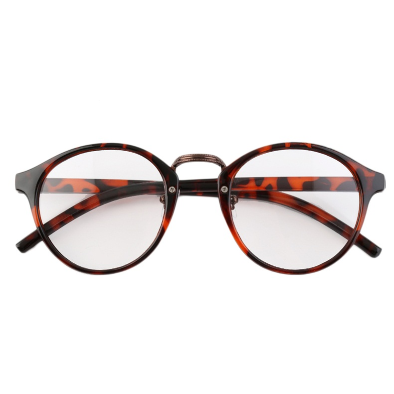 Vintage Big Frame Glasses : Retro Geek Vintage Nerd Large Frame Fashion Round Clear ...