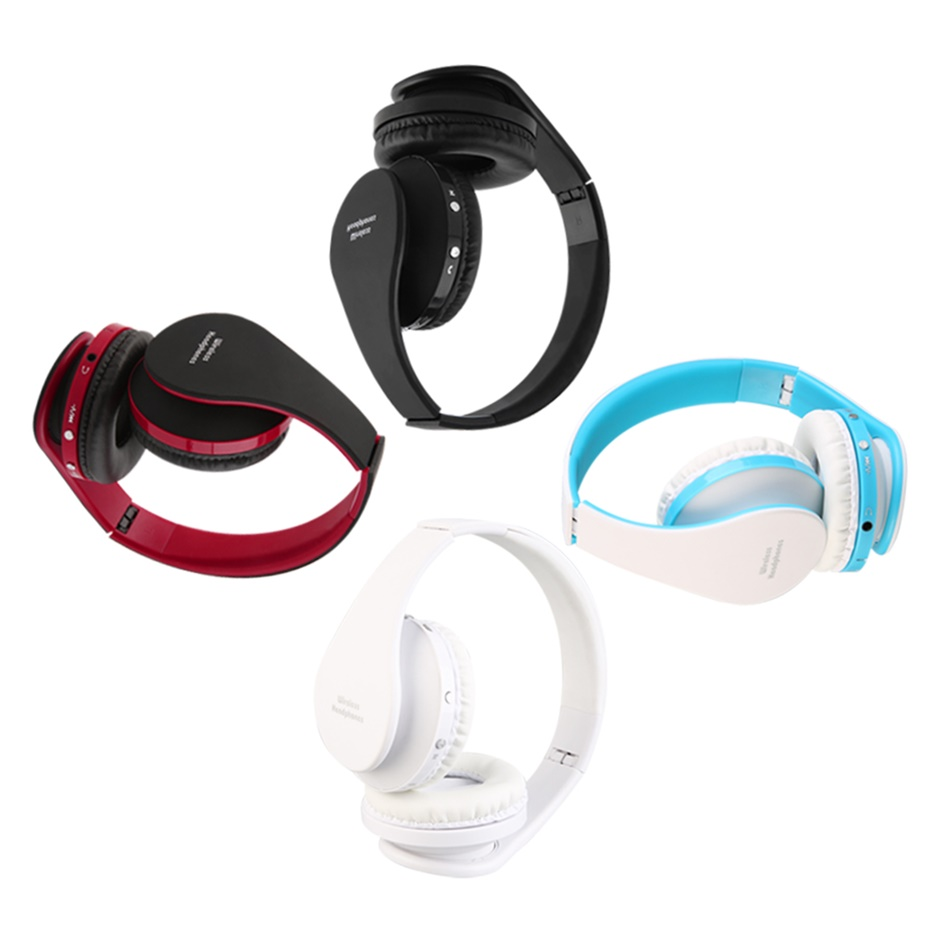 foldable wireless bluetooth headset stereo over ear. Black Bedroom Furniture Sets. Home Design Ideas