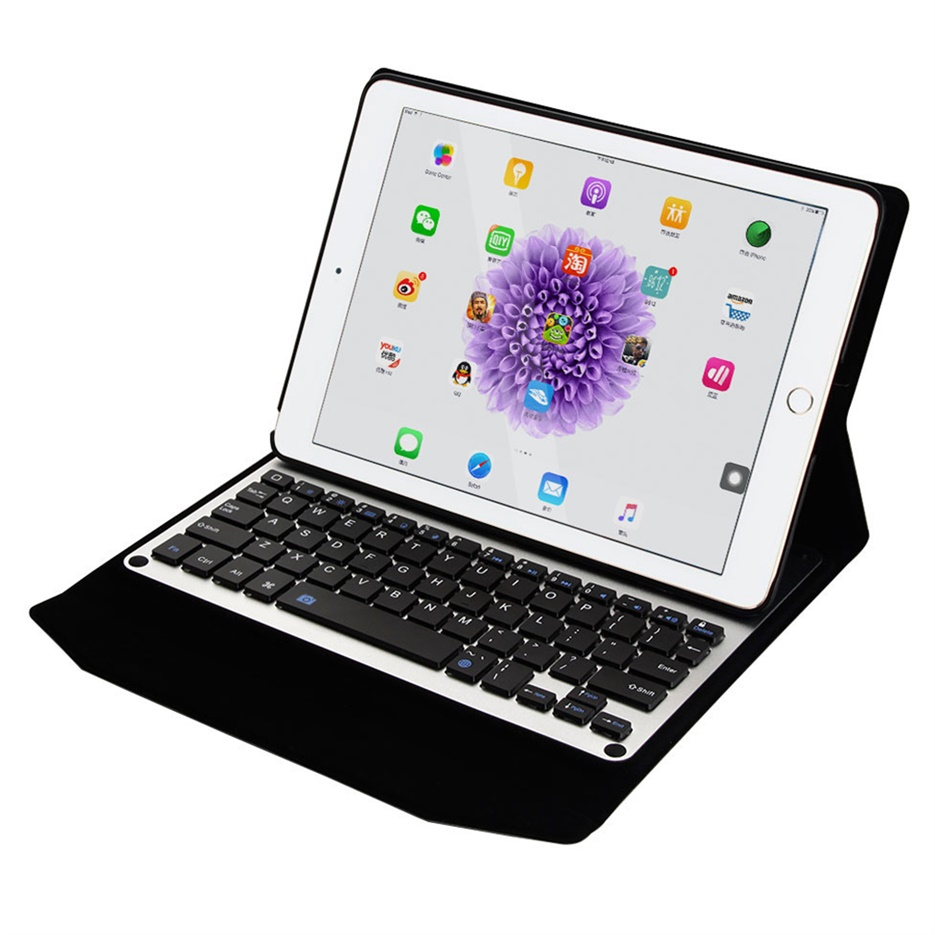 aluminum wireless bluetooth case covers keyboard for apple ipad pro ebay. Black Bedroom Furniture Sets. Home Design Ideas
