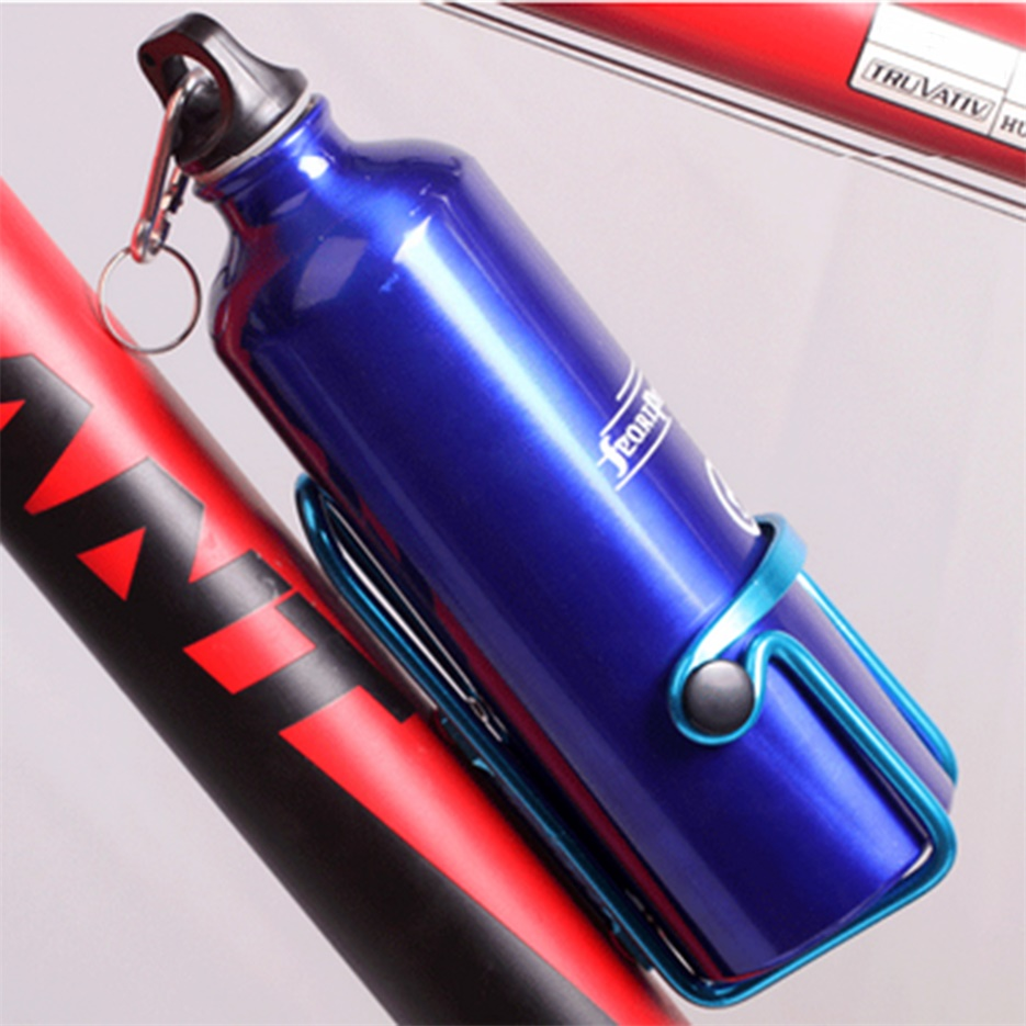 Aluminium Alloy Mountain Bike Water Bottle Holder Bicycle Drink Water Rack Cages
