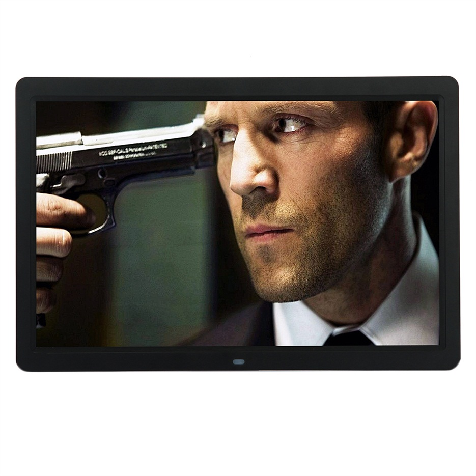 New 15 inch HD LED Digital Photo Picture Frame MP3 MP4 Movie+Remote ...