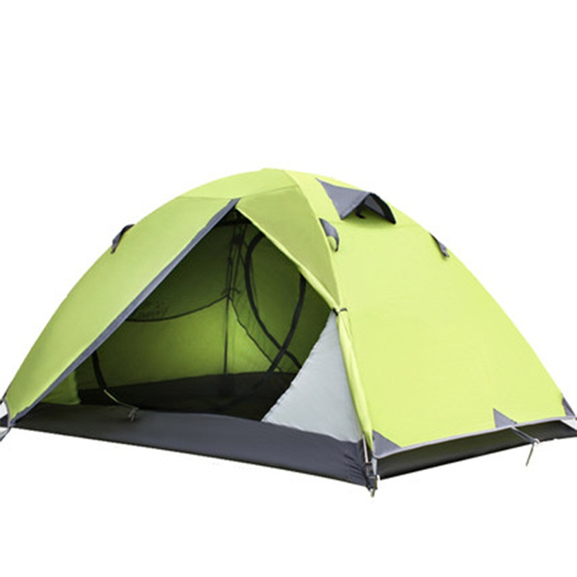 New Two Person Tent Double Wall Extent Outdoor Hiking