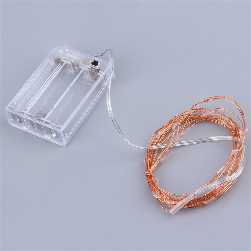 3M 30LED Copper Wire Xmas Party String Fairy Light Battery Operated Wedding UE eBay