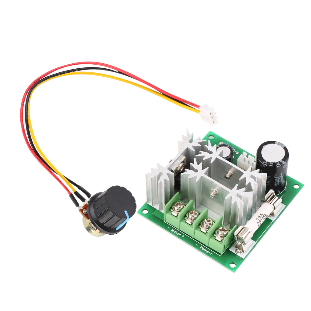 New dc motor speed control pwm switch controller 1000w xy for Speed control electric motor