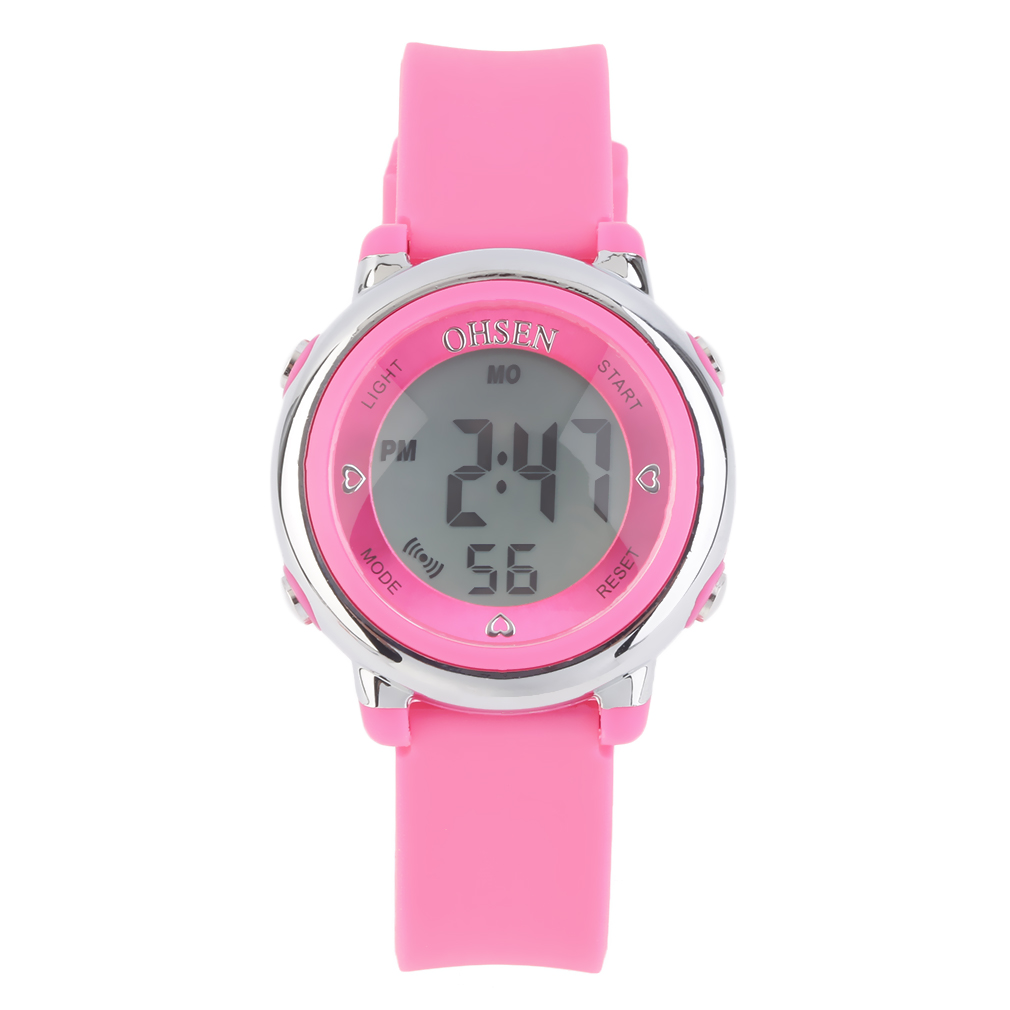 fashion silicone band digital led wrist watches