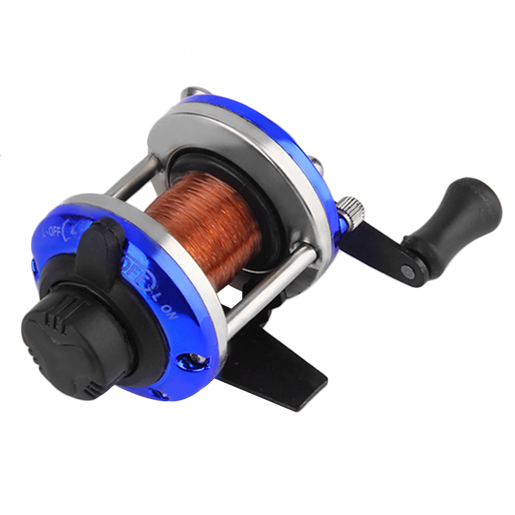 Right handed reel round baitcasting fishing reel saltwater for Baitcasting fishing reel