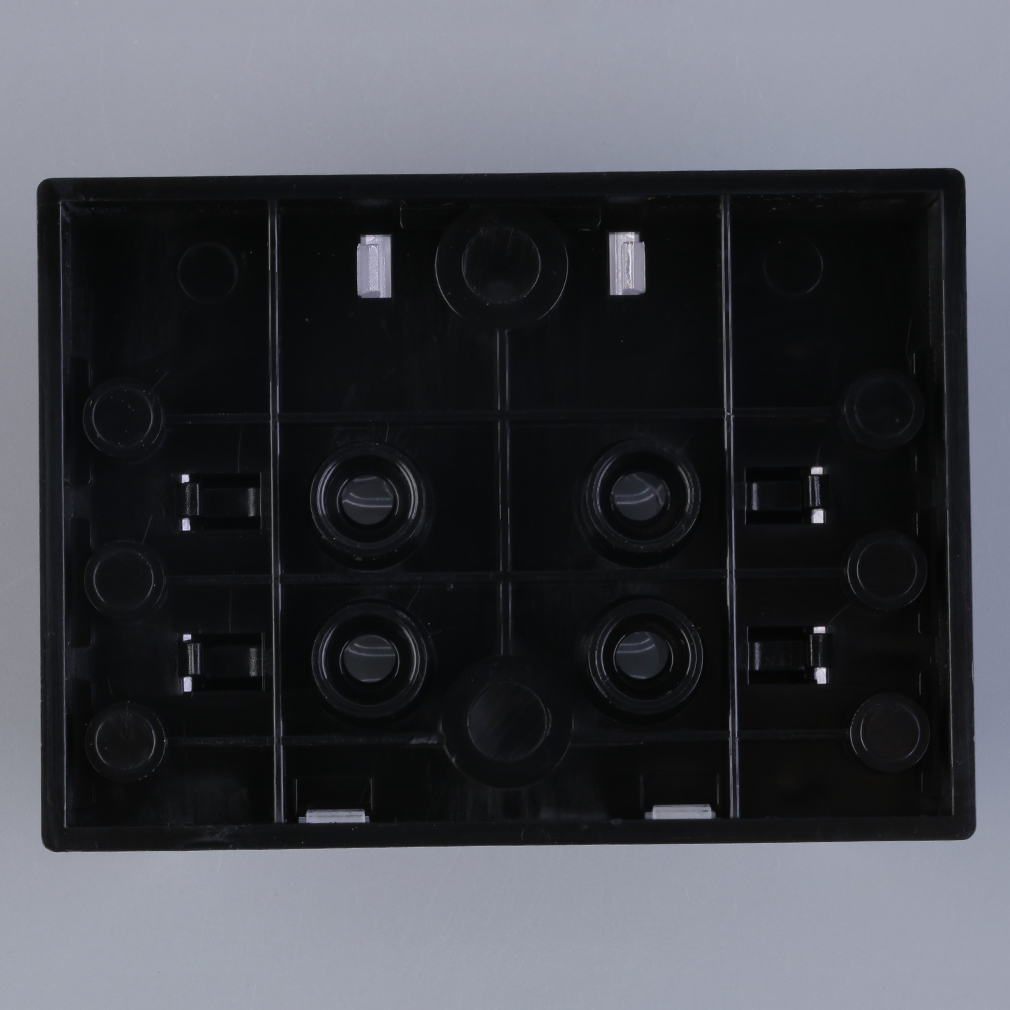 6 Way Circuit Car Atc Ato Blade Fuse Box Block Holder 32v