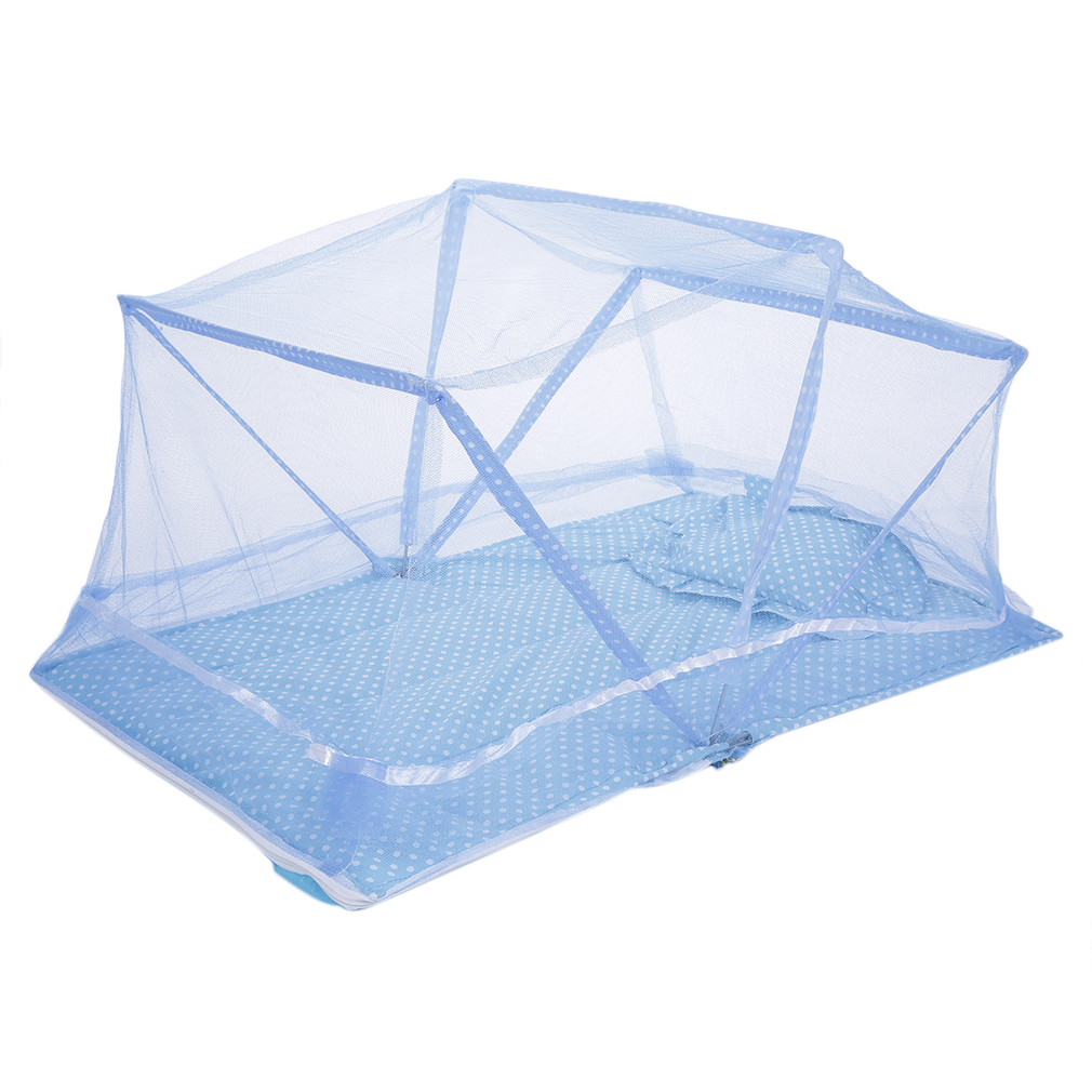 Used crib for sale ebay - Folding Baby Infant Travel Bed Crib Canopy Mosquito Net Tent Bs Ebay
