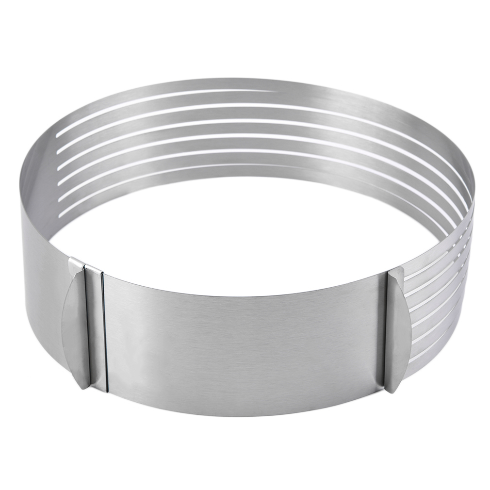 Oh Adjustable Round Stainless Steel Cake Ring Mold Layer