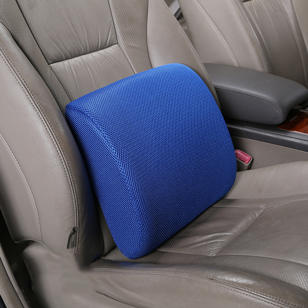 Made of high resilient and high density memory foam superior comfort can mold or conform to your owm proportions extents from the base of the spine
