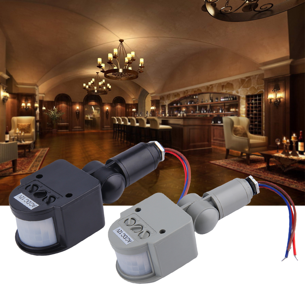 Automatic pir infrared motion sensor detector switch for