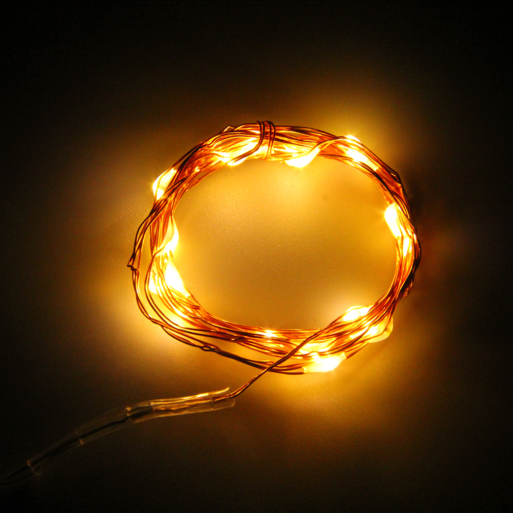 Primark Copper String Lights : 20/50/100 LED String Copper Wire Fairy Lights Battery Powered Waterproof Oau eBay