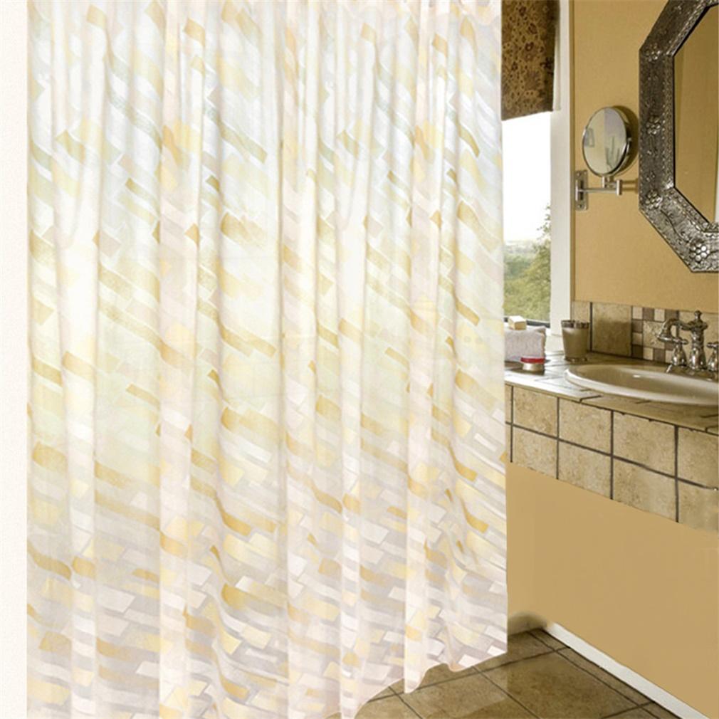 Bathroom High Quality Fabric Multi Style Printed Shower Curtain 180 180cm Bs