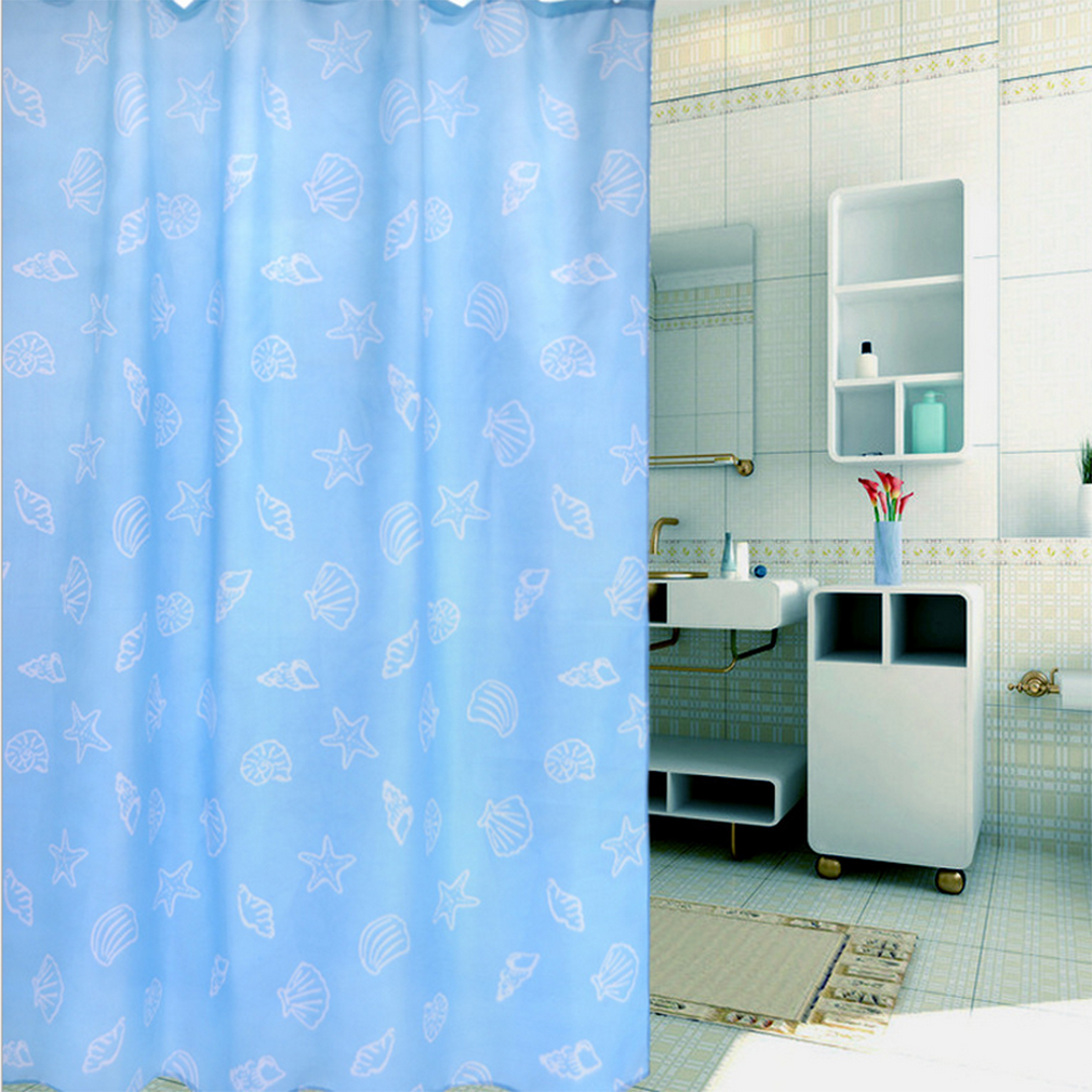 Bathroom High Quality Fabric Multi Style Printed Shower Curtain 180 180cm Zs Ebay
