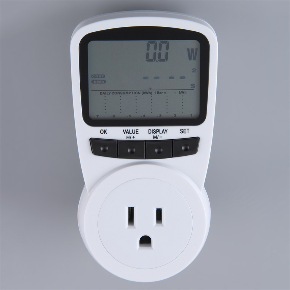 Plug In Power Meter : New ts plug in electricity meter electronic energy