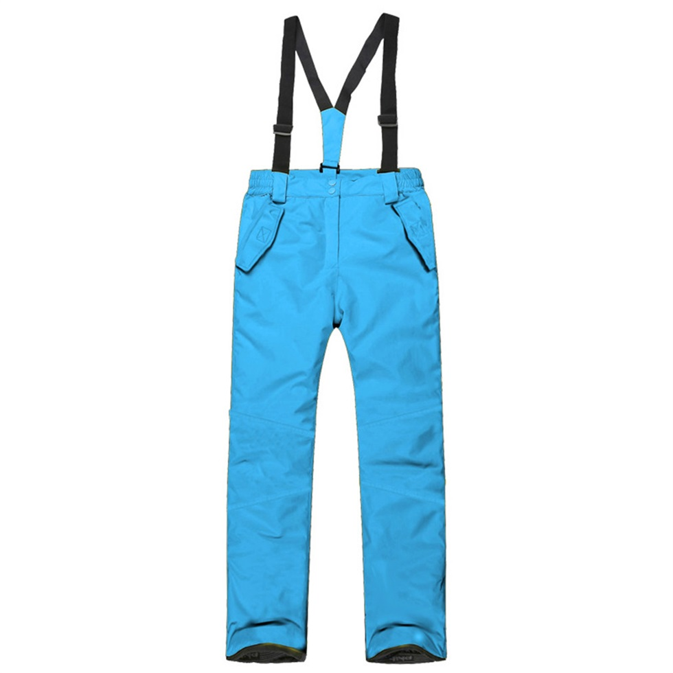 children kids winter warm outdoor waterproof ski pants