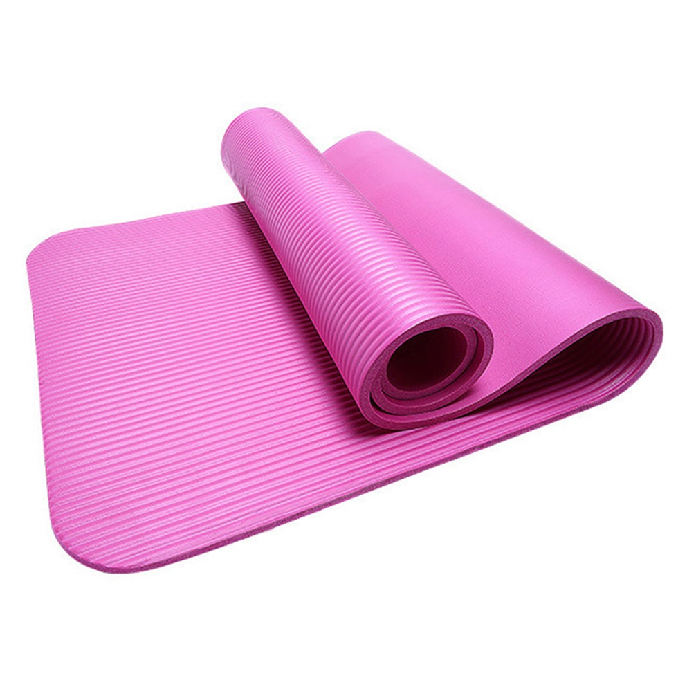 Non-Slip 10mm Ultra Thick Yoga Mat Fitness Exercise Sports