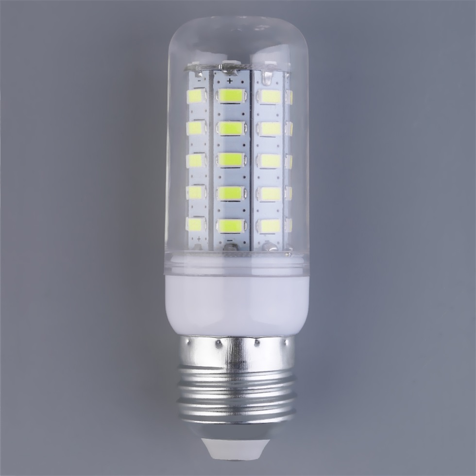 48 x 5730 smd 110v 15w e27 led corn bulb lamp warm white white lights bulbs be ebay. Black Bedroom Furniture Sets. Home Design Ideas