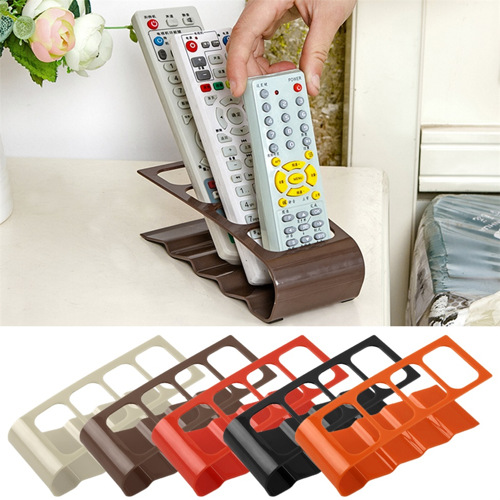 TV DVD VCR Remote Control Mobile Cell Phone Holder Stand Storage OrganizerNG