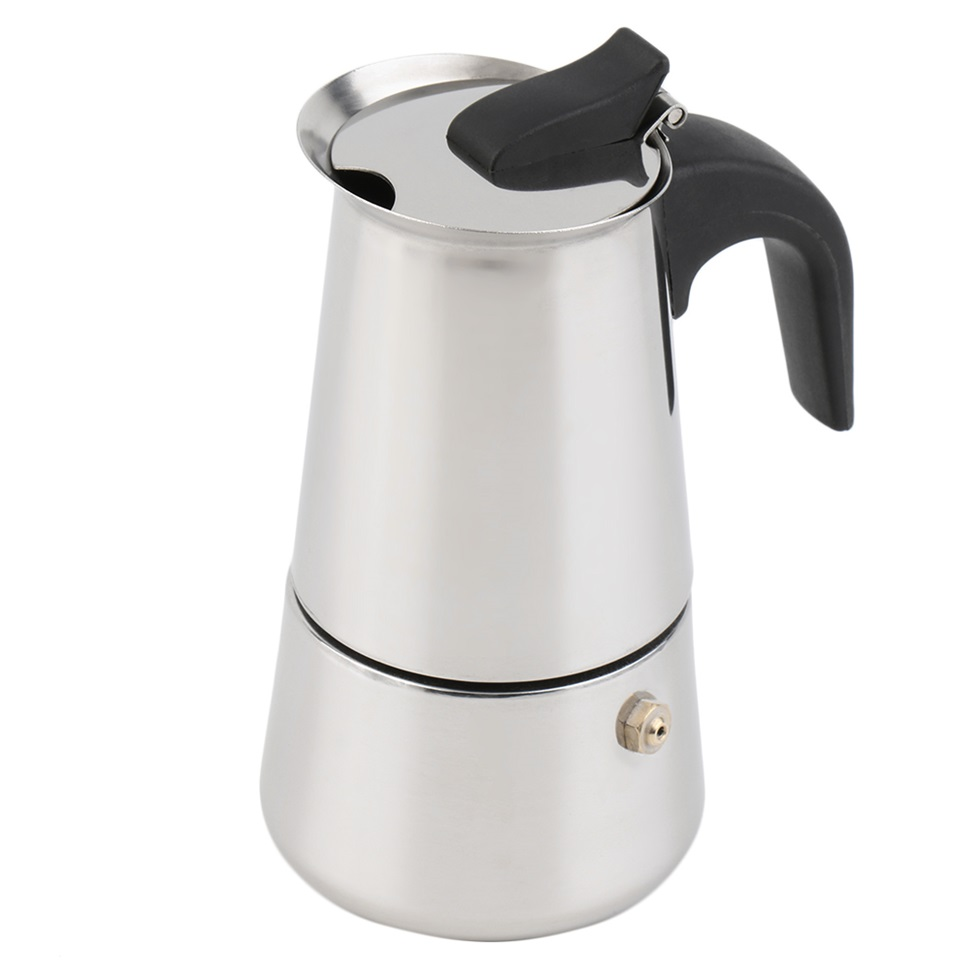 Best Coffee Maker For Latte : 2/4/6-Cup Percolator Stove Top Coffee Maker Moka Espresso Latte Stainless Pot BN eBay