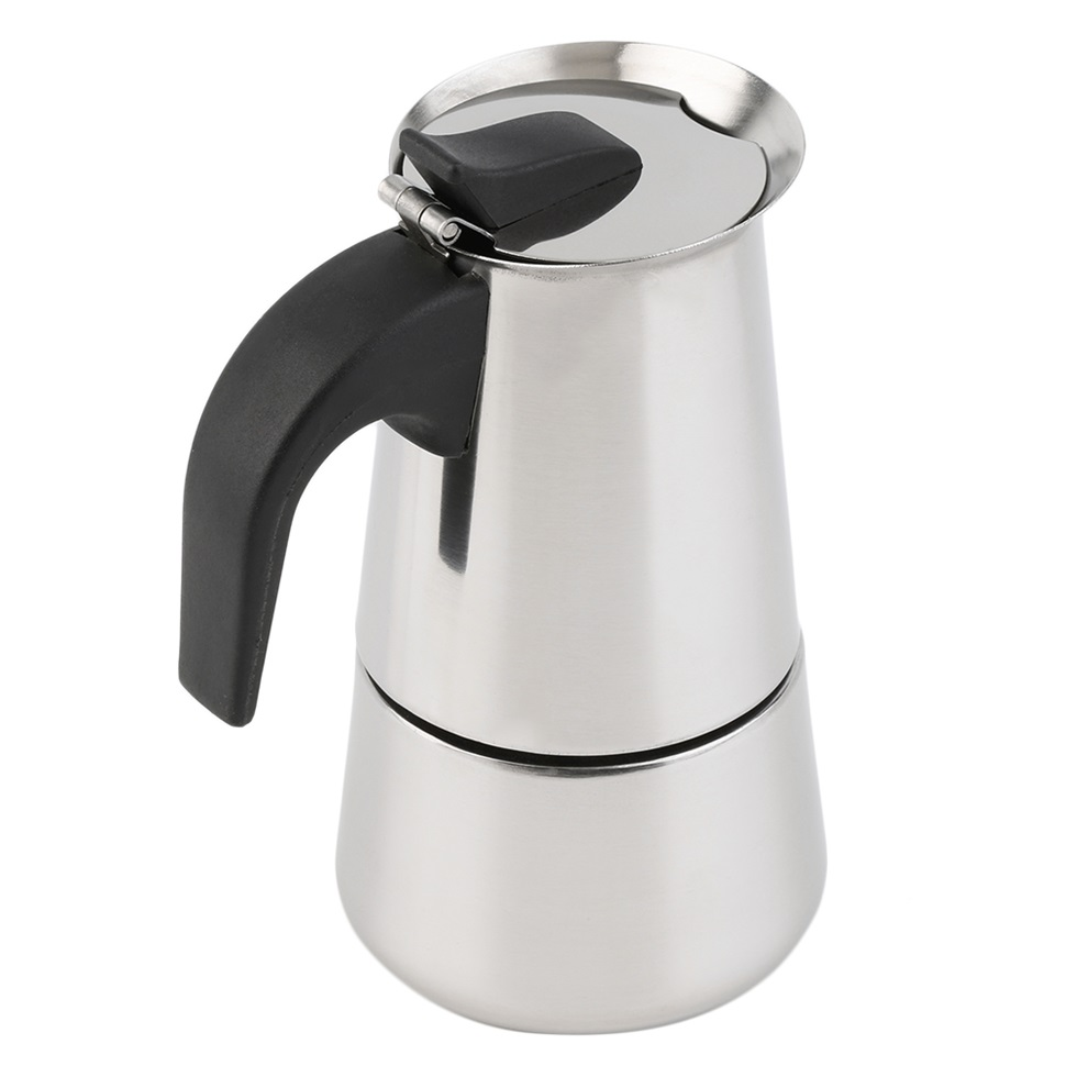 Coffee Maker With Latte : 2/4/6-Cup Percolator Stove Top Coffee Maker Moka Espresso Latte Stainless Pot BN eBay