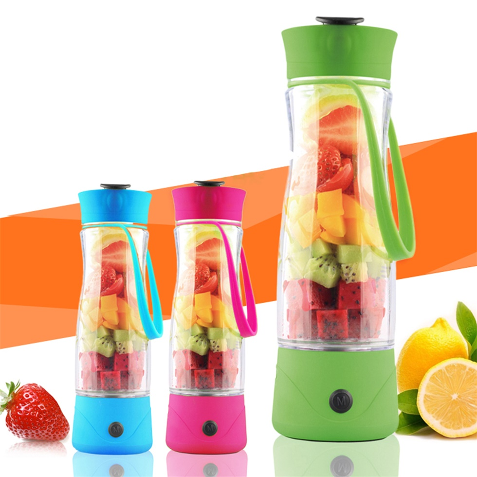 Mini Personal Charge Pattern Juicer Smoothie Puff Fruit Vegetable Juicer F5 | eBay