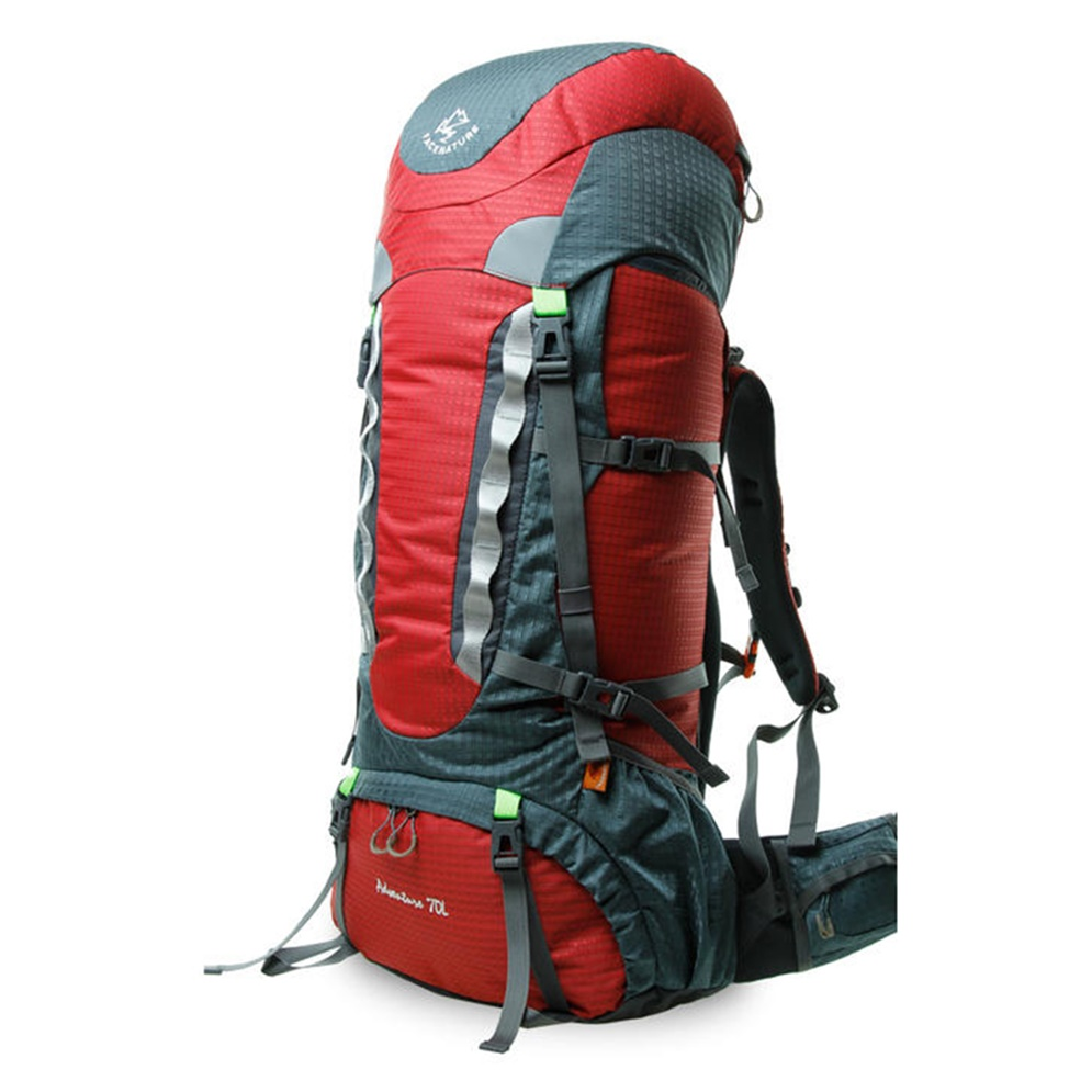 70 l tanche alpinisme sac camping randonn e sac dos voyage sac dos f7 ebay. Black Bedroom Furniture Sets. Home Design Ideas