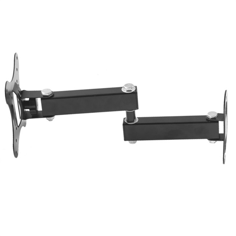 articulating arm tilt lcd led monitor tv wall mount 14 17 19 22