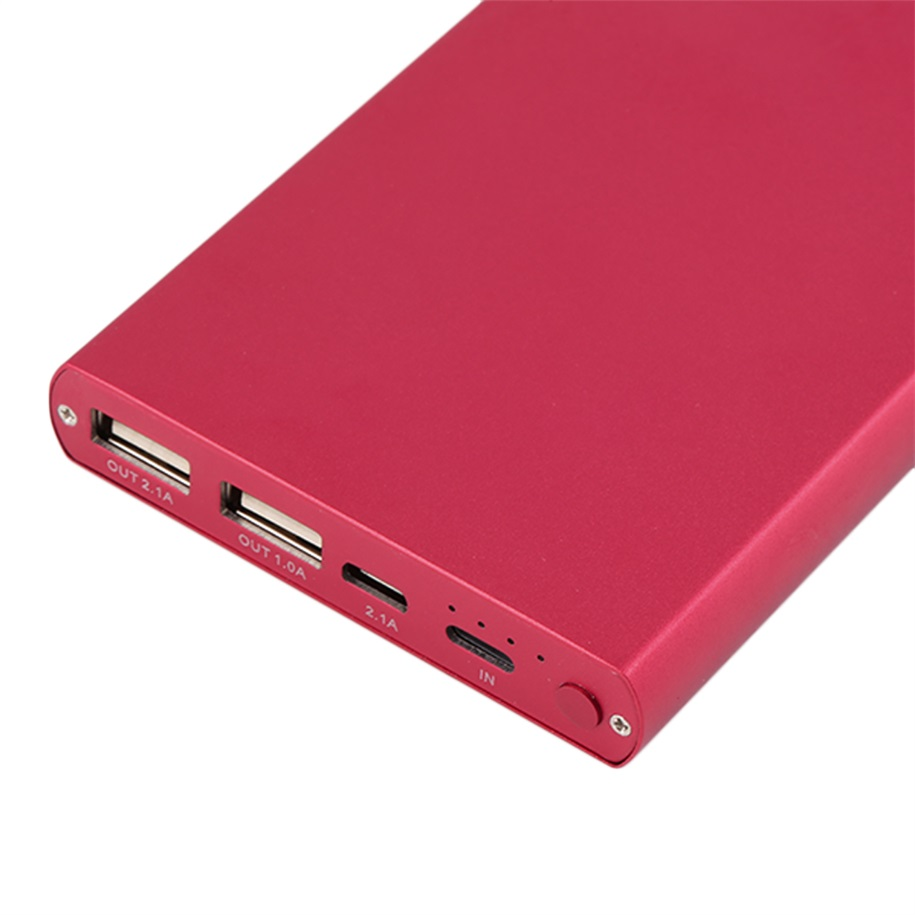 10000mah portable usb external battery charger power bank for Usb c portable charger