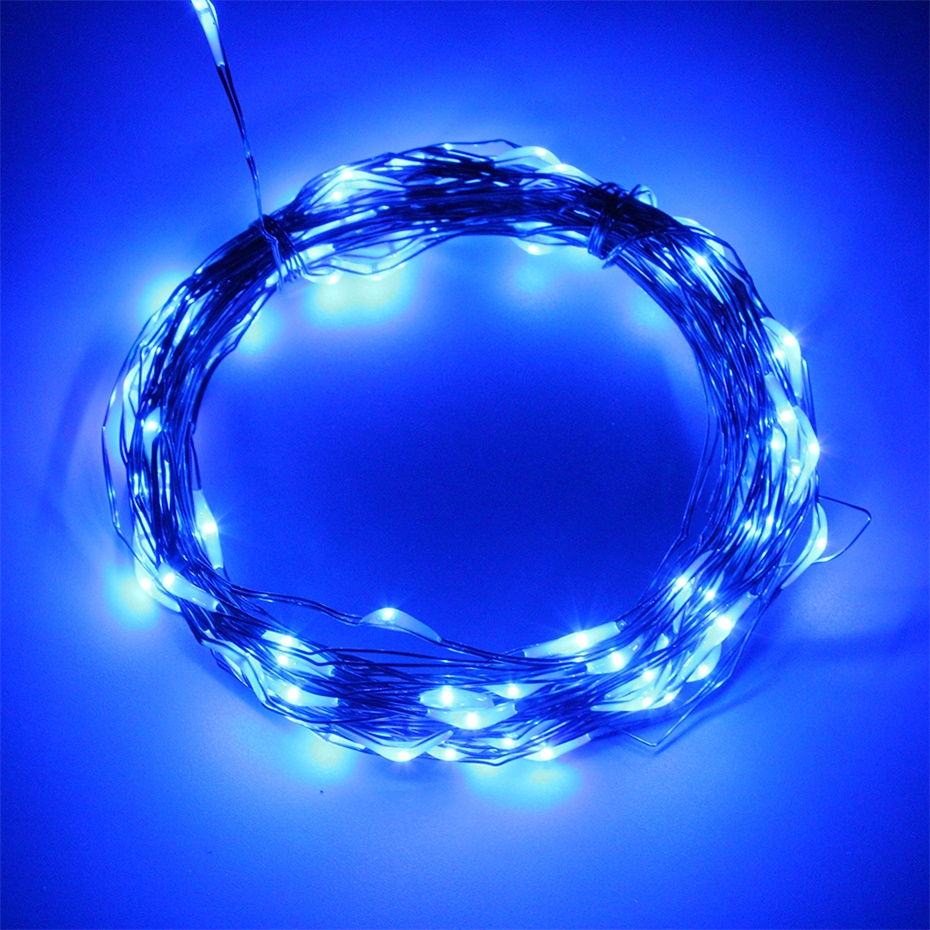 20-100 LEDS MICRO WIRE STRING FAIRY PARTY XMAS WEDDING CHRISTMAS METAL LIGHTS OK eBay