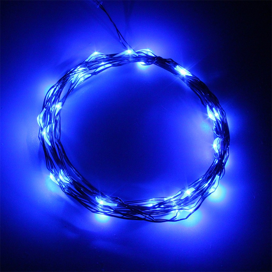 3M 30LED Copper Wire Xmas Party String Fairy Light Battery Operated Wedding OS eBay