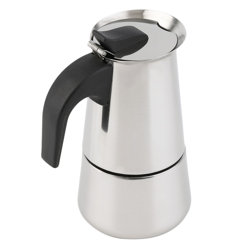 2 4 cup percolator stove top coffee maker moka espresso for Best coffee percolator