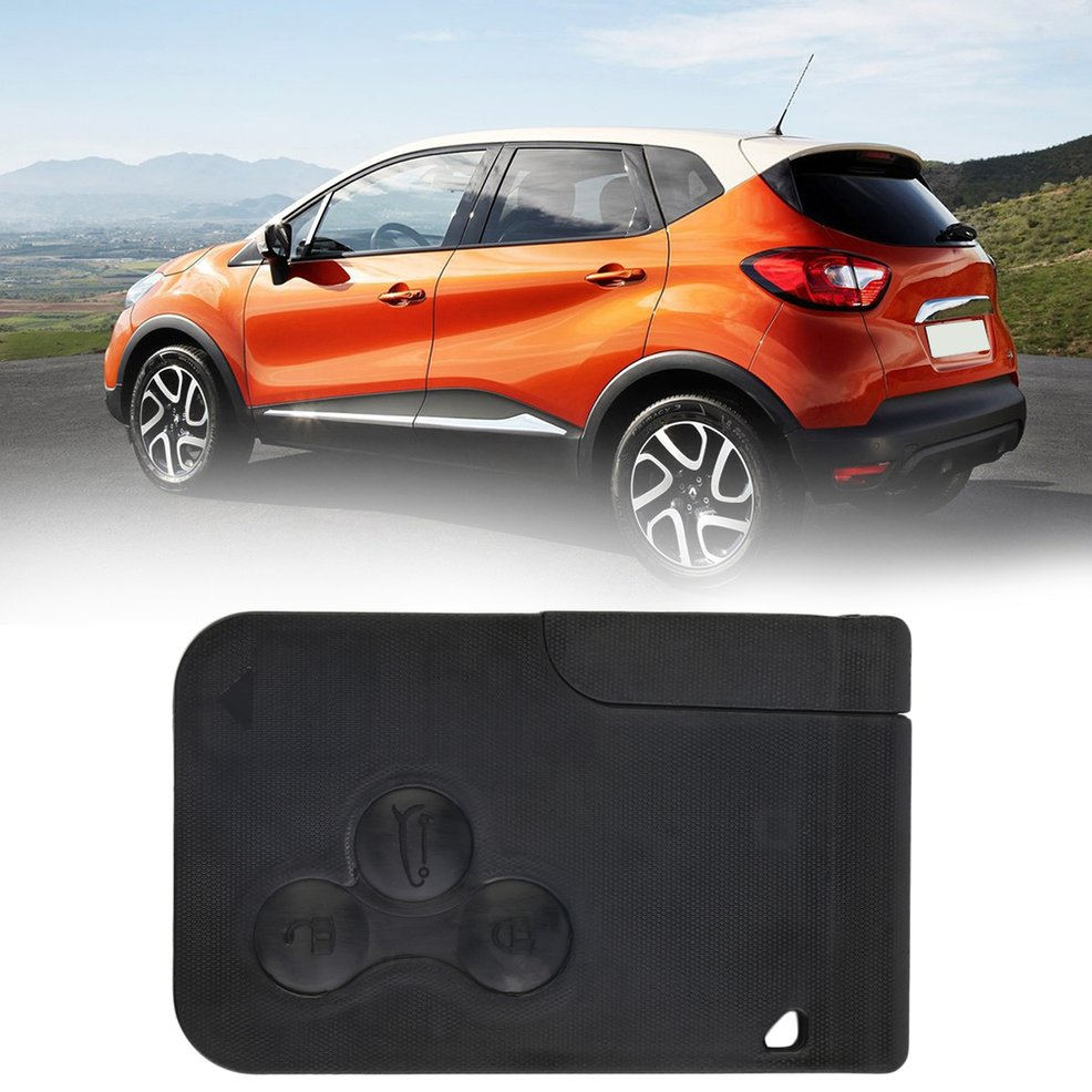 Renault Clio Old: 3 Button Key Card Shell Case Fit For Renault Clio/Megane