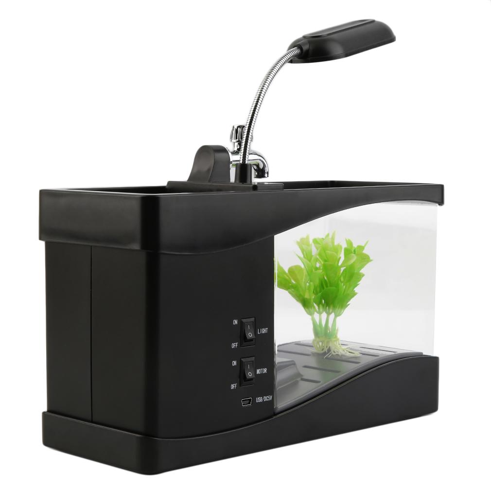 Usb desktop mini fish tank aquarium end 1 23 2018 8 24 pm for Usb fish tank